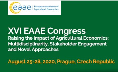 UPCOMING: XVI EAAE Congress, 25-28 August, Prague, the Czech Republic
