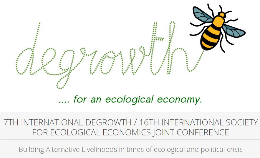 UPCOMING: International Degrowth / ISEE conference