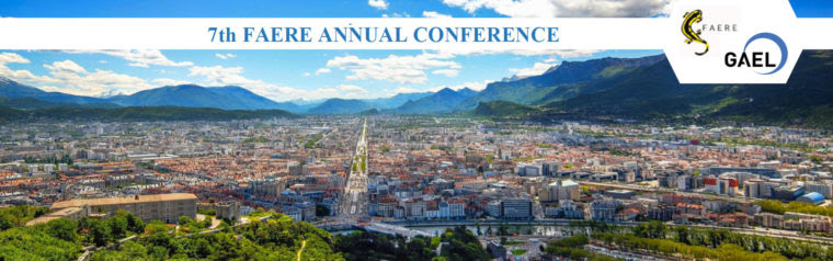 UPCOMING: 7th FAERE Conference