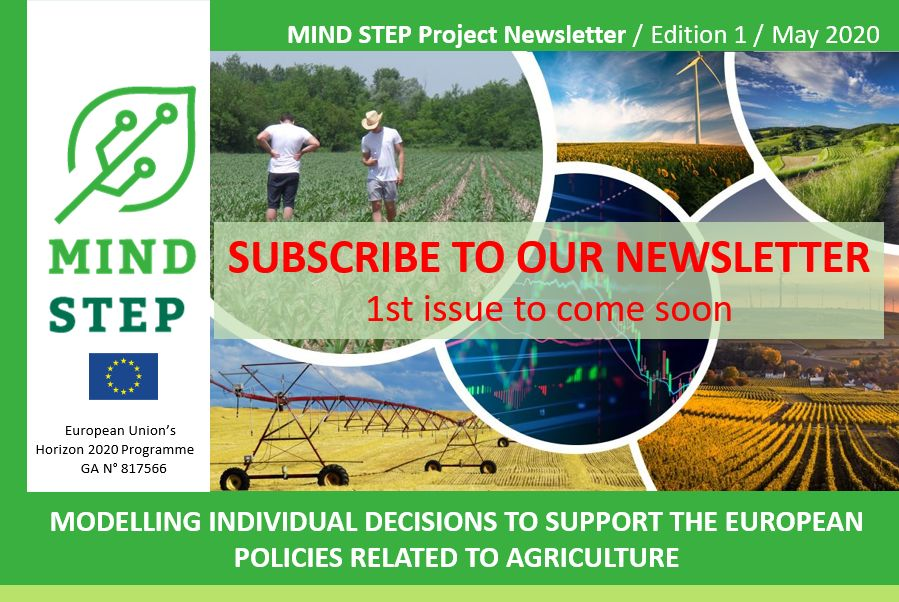 1ST MIND STEP NEWSLETTER IS OUT SOON - SUBSCRIBE TO OUR NEWSLETTER