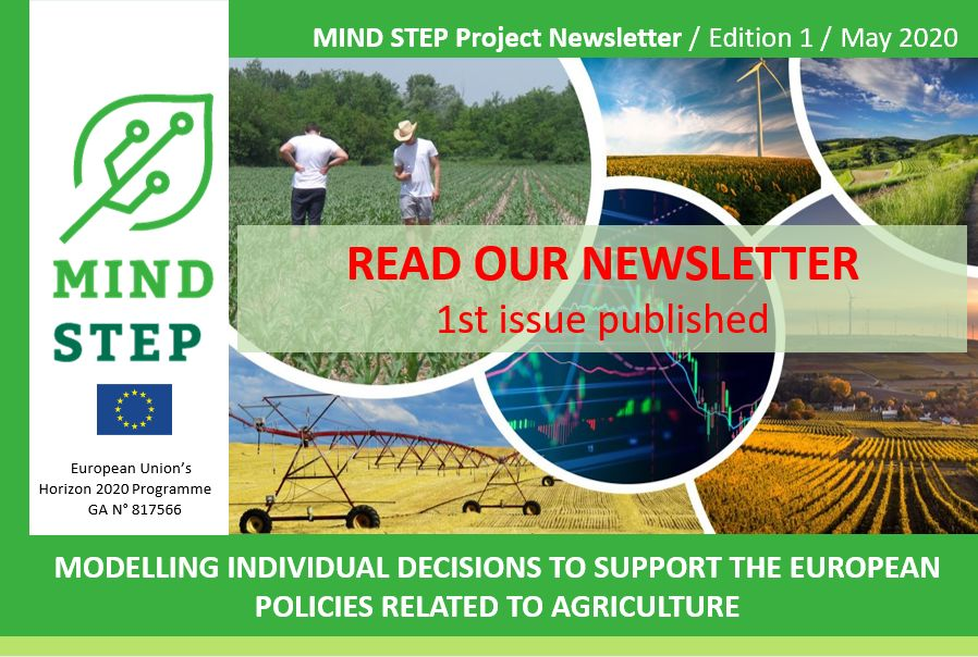 MIND STEP 1ST NEWSLETTER IS OUT