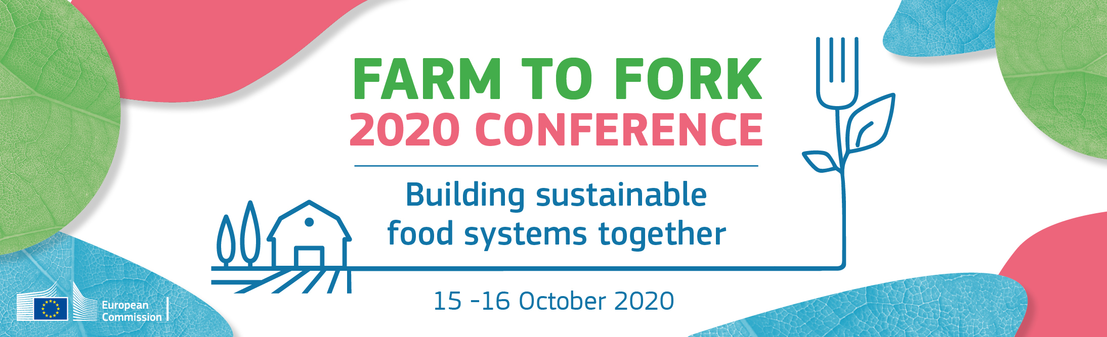Farm to Fork 2020 conference - Building sustainable food systems together 15 - 16 October 2020