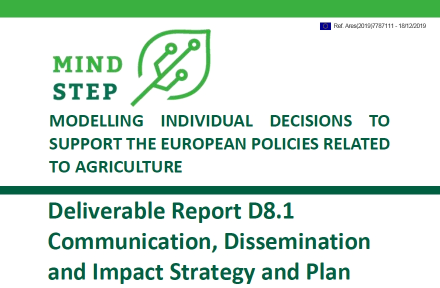 Deliverable Report D8.1 Communication, Dissemination and Impact Strategy and Plan