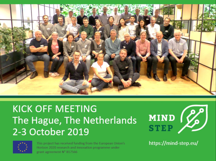 MIND STEP  Kick-off in The Hague